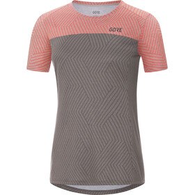GORE WEAR R3 Optiline - T-shirt course à pied Femme - gris/rose